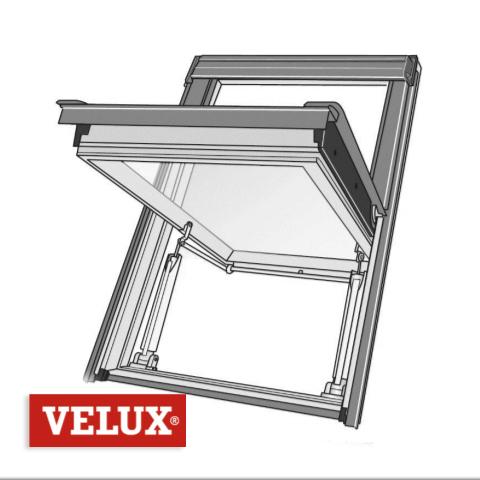 Velux Désenfumage Pneumatique GGL S2076P - 114 x 118 - SK06 > Cage d'escalier